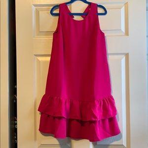 Magenta/Pink Loft 00 Cocktail Dress